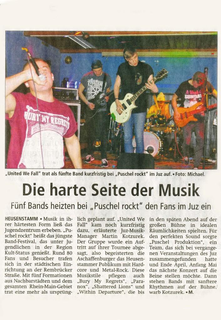 Offenbach Post, 13. März 2013