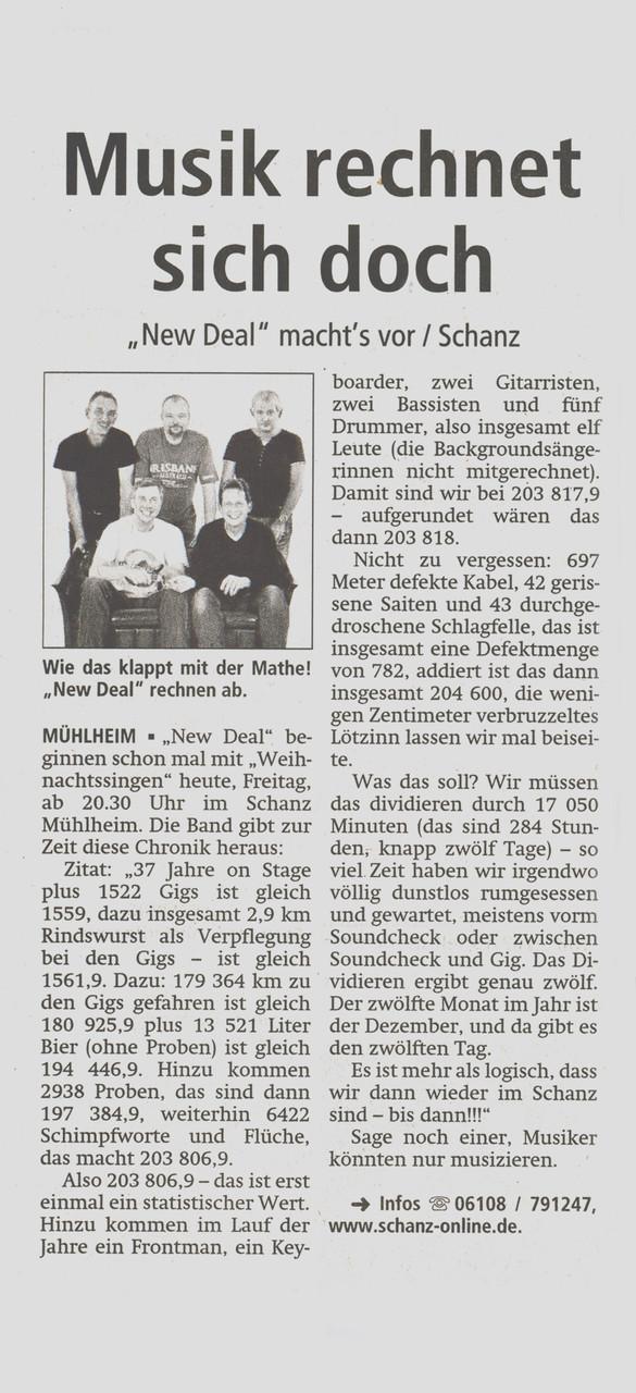 Offenbach Post, 12. Dezember 2014
