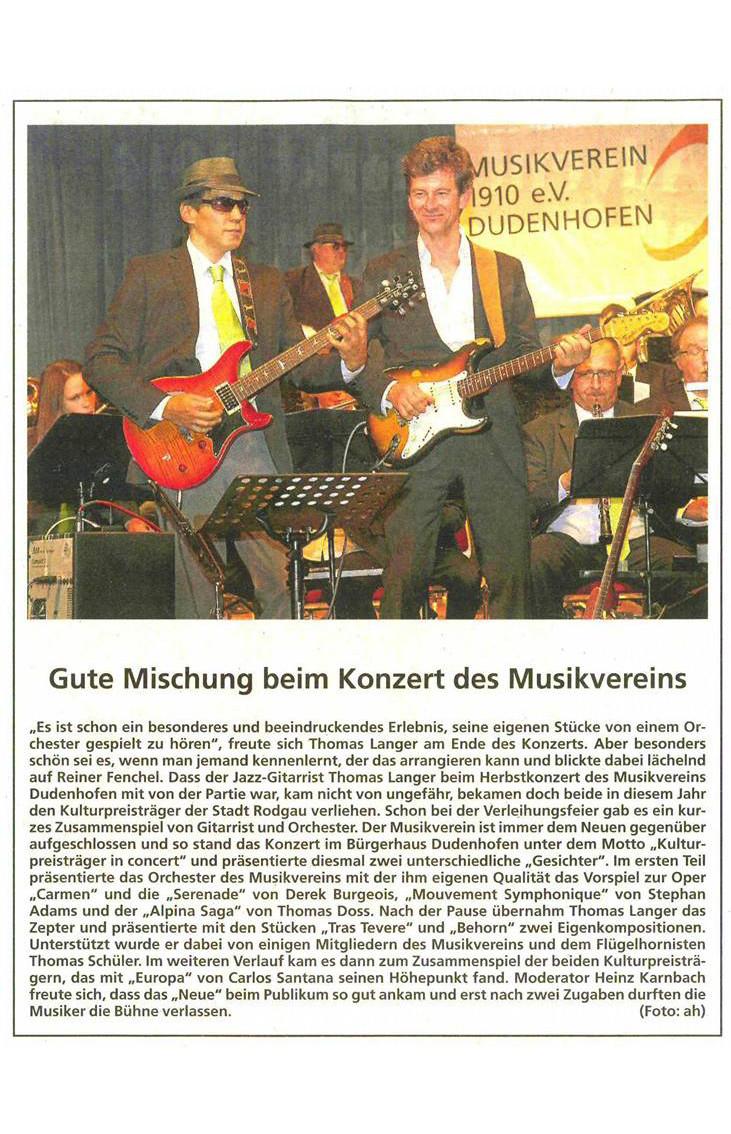 Rodgau Zeitung, 4. Dezember 2014