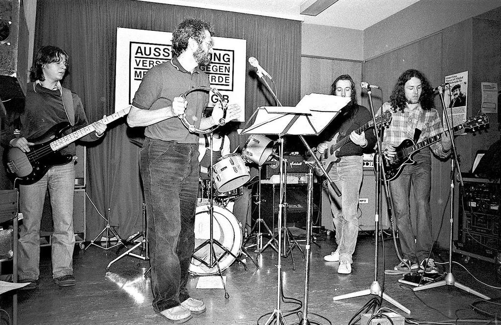 Schall und Rauch im DGB-Haus Offenbach ca. 1981