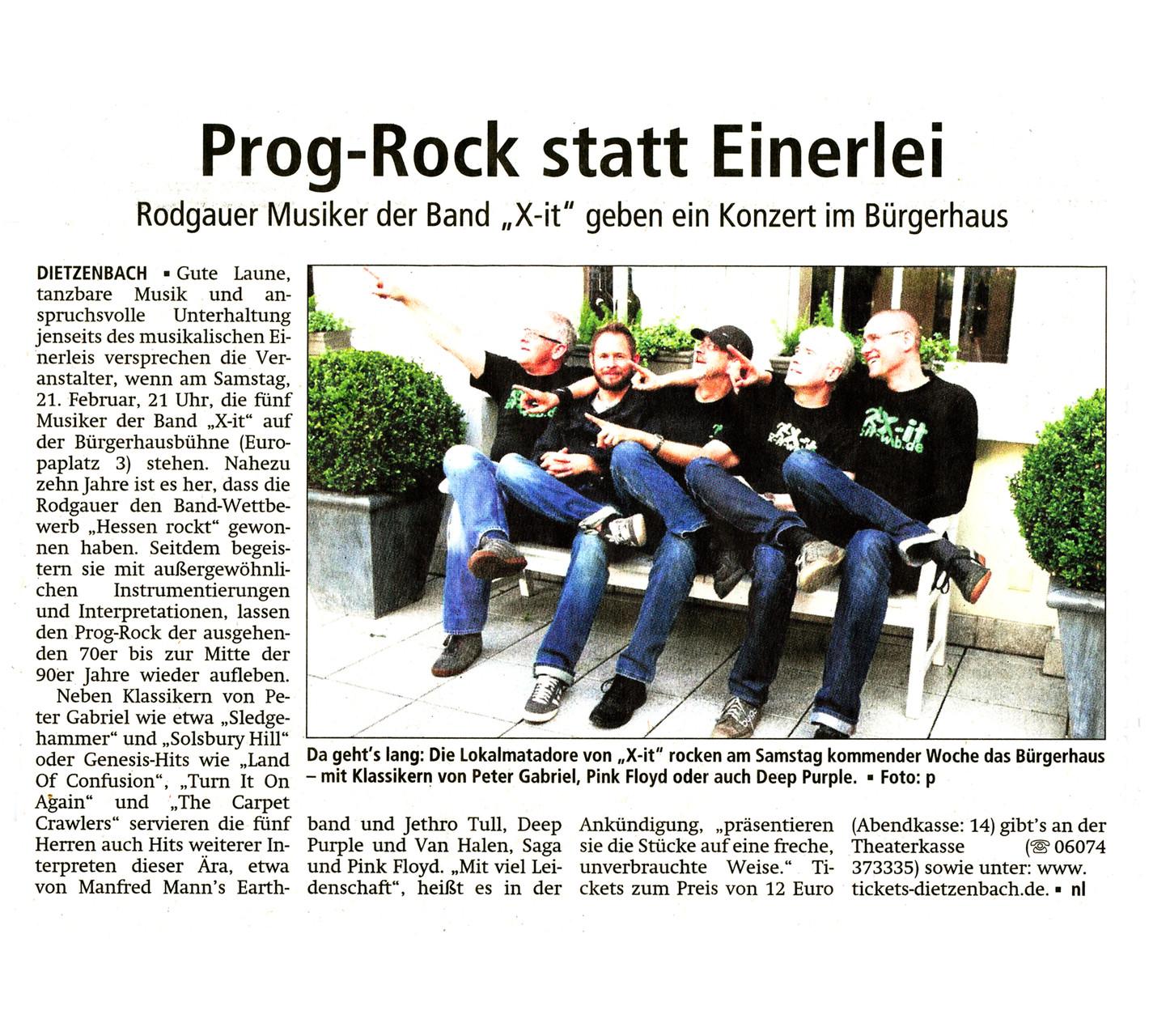 Offenbach Post, 14. Februar 2015