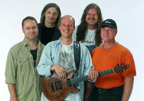 v.l.n.r.: Henning Doms, Udo Kistner, Rolf Plaueln, Hansel Billing, Werner Fromm