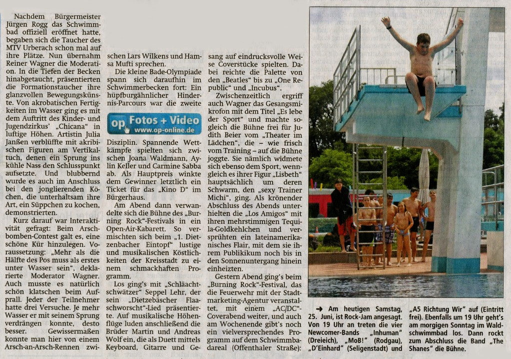 Offenbach Post, 25. Juni 2011 (2)