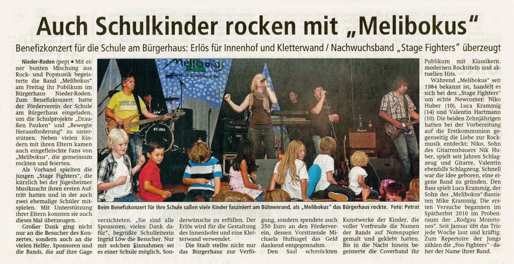 Artikel Offenbach Post, 6. September 2011