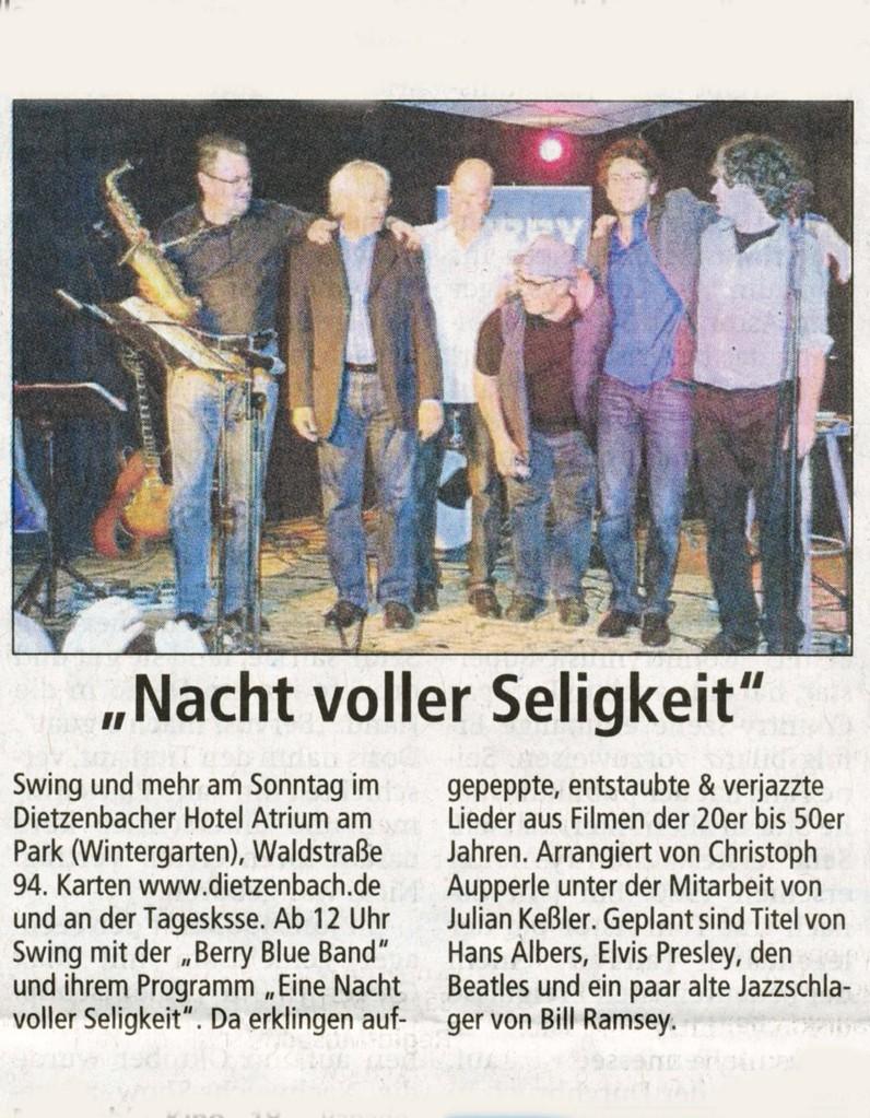 Offenbach Post, 6. Juli 2013