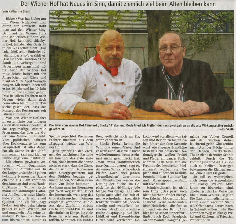 Offenbach Post, 14. April 2011
