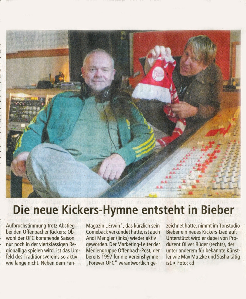 Offenbach Post, 3. Juli 2013
