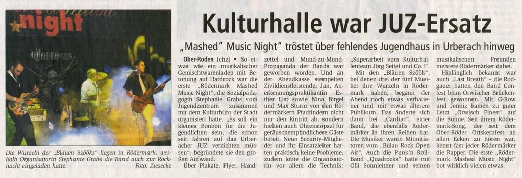 Offenbach Post, 14. Dezember 2010