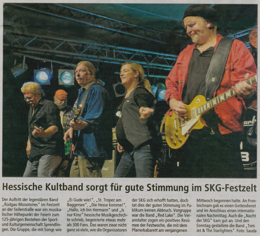 Offenbach Post, 27. Juni 2011