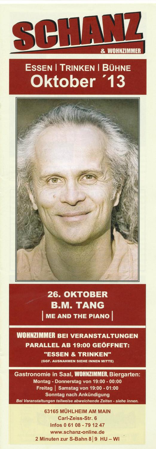 Programmheft Oktober 2013 - Titelseite