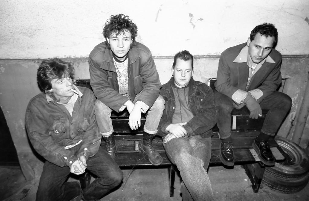 "v.l.n.r.: Andy Stitz, Jörg Schaufert, Ralf ""Boom Boom"" Becker, Stefan ""Beeny"" Beyer"