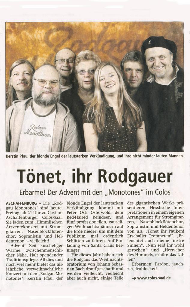 Offenbach Post, 13. Dezember 2013