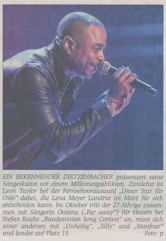 Offenbach Post, 30. Dezember 2010