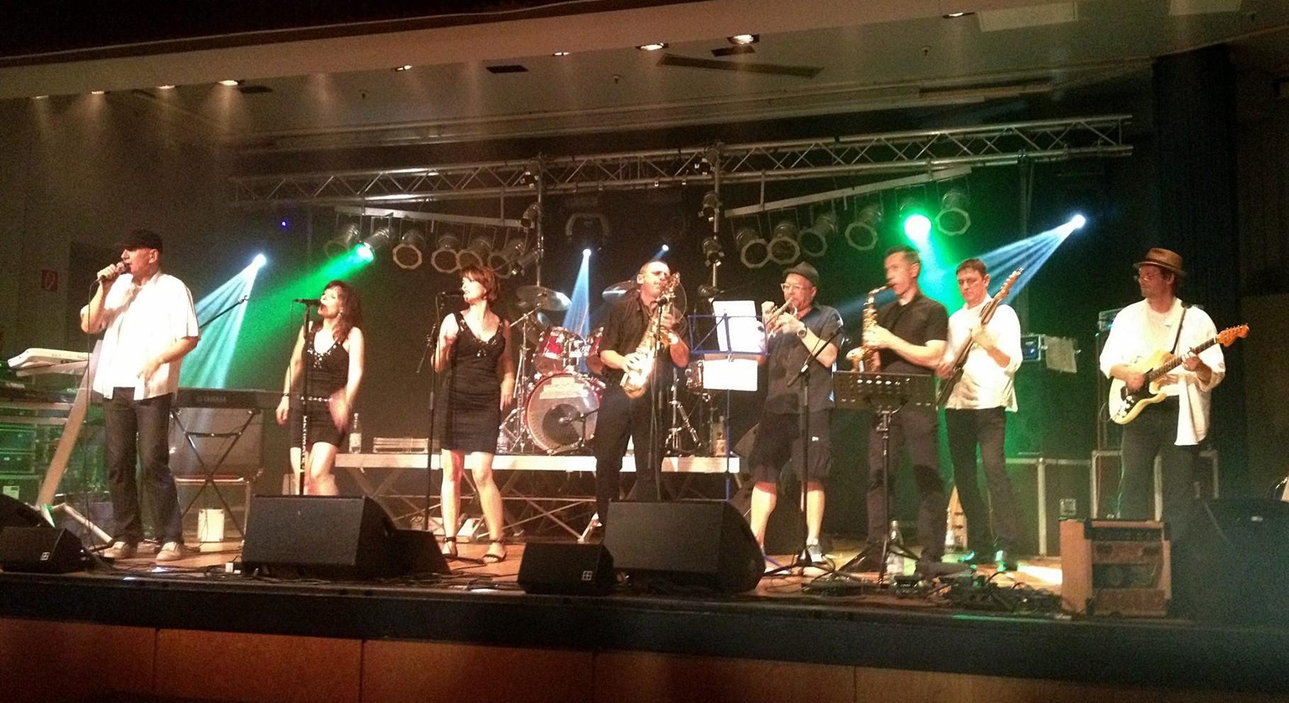 Auftritt beim Jubiläumsfest 125 Jahre TSV Dudenhofen, 7. Juni 2014