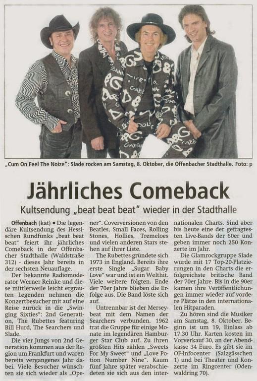 Offenbach Post, 15. September 2011
