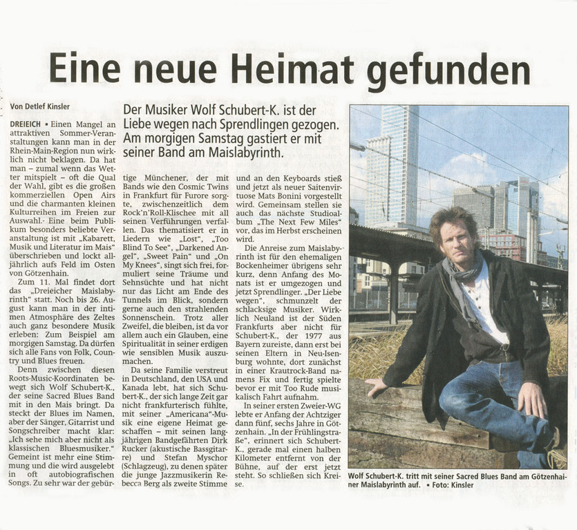 Offenbach Post, 3. August 2012