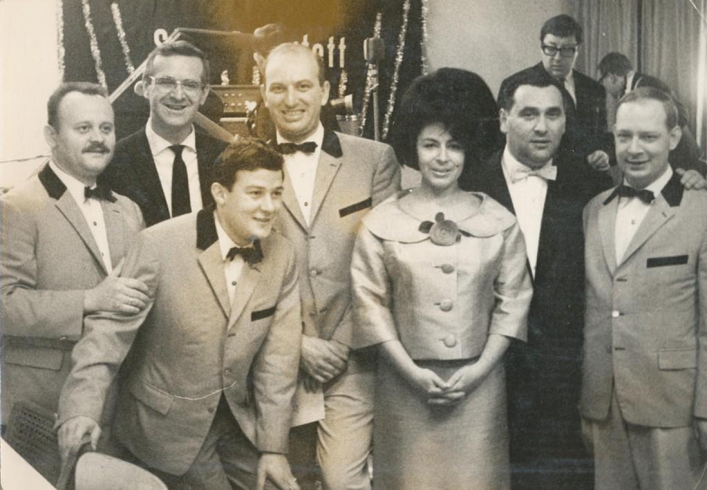 """Maxim """"Großes Colleg"""" 1965: Hazy Osterwald und die Trainboys"""