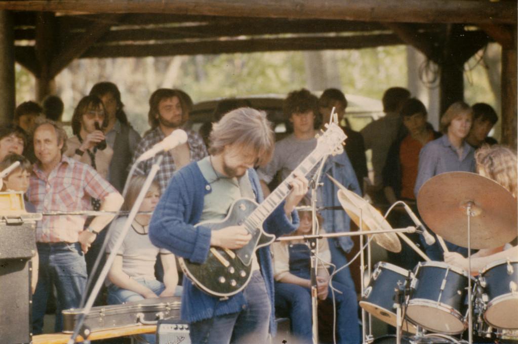 1. Auftritt Waldfreizeitanlage Jügesheim 1979 / Thomas Hegner