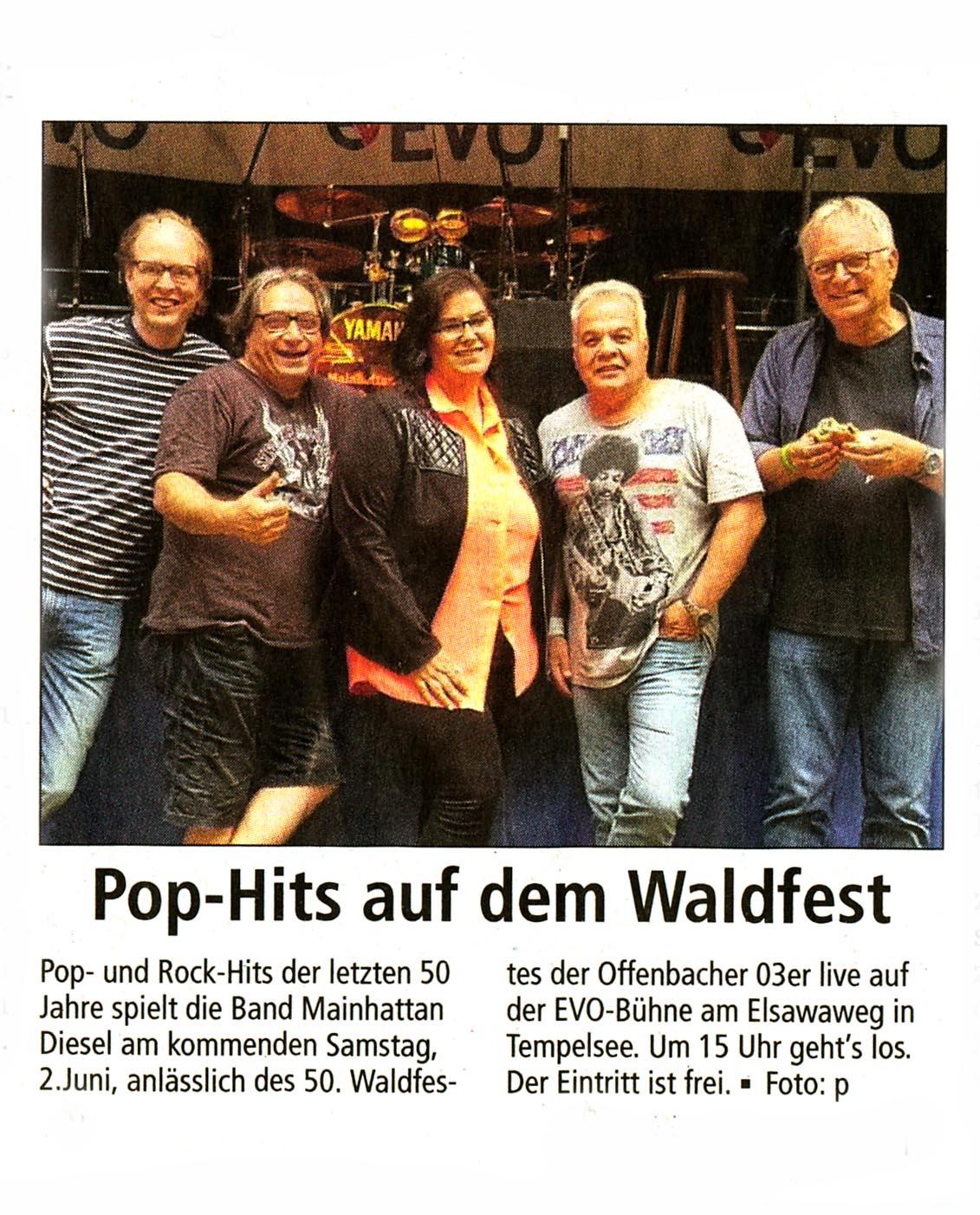 Offenbach Post, 30. Mai 2018