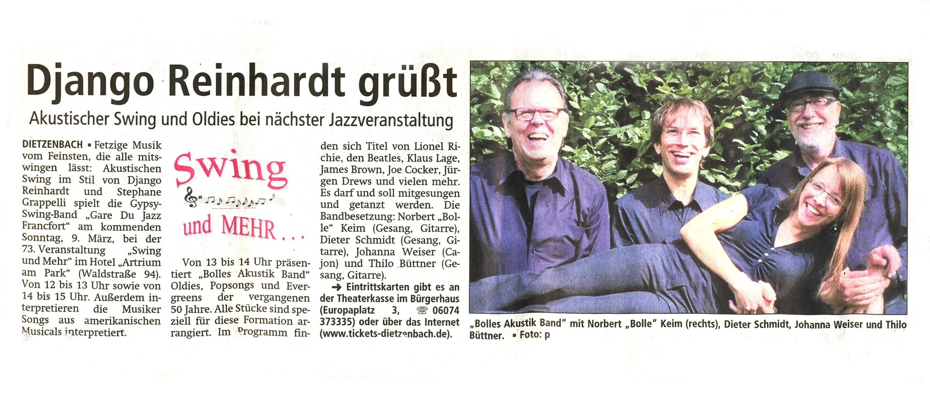 Offenbach Post, 6. März 2014