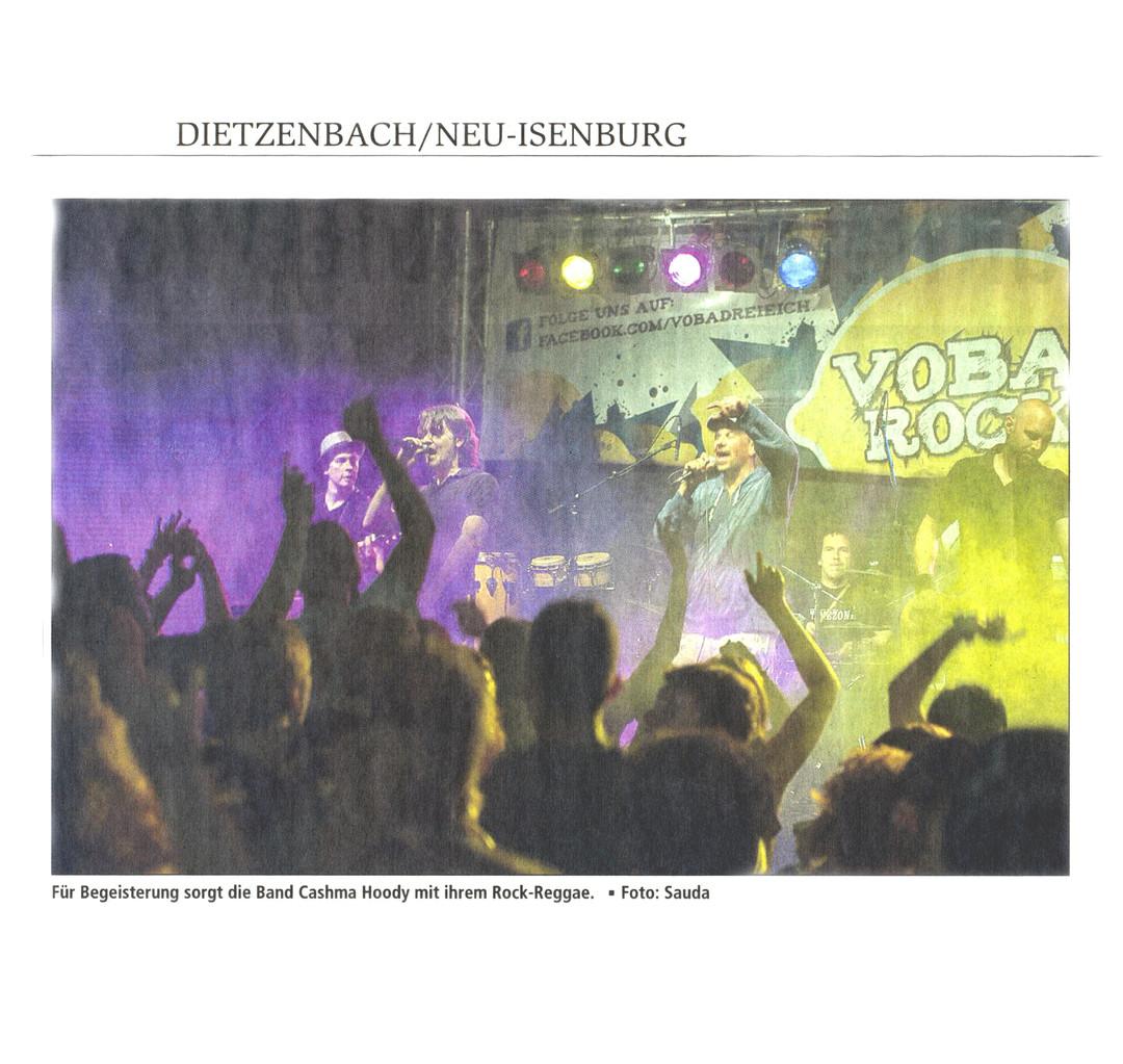 Artikel Offenbach Post, 15. Juli 2013 (1)
