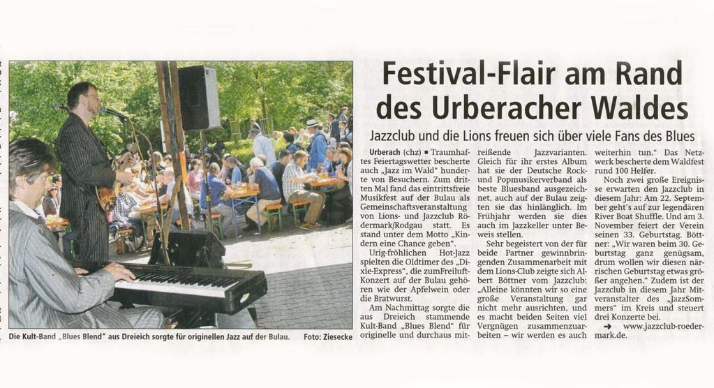 Offenbach Post, 19. Mai 2012