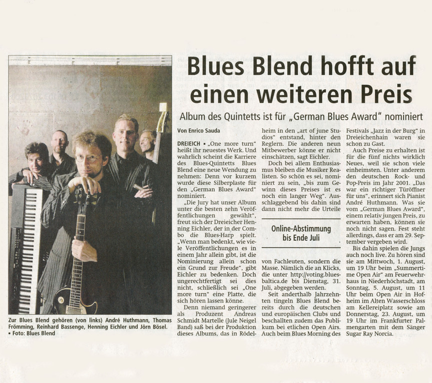Offenbach Post, 20. Juli 2012