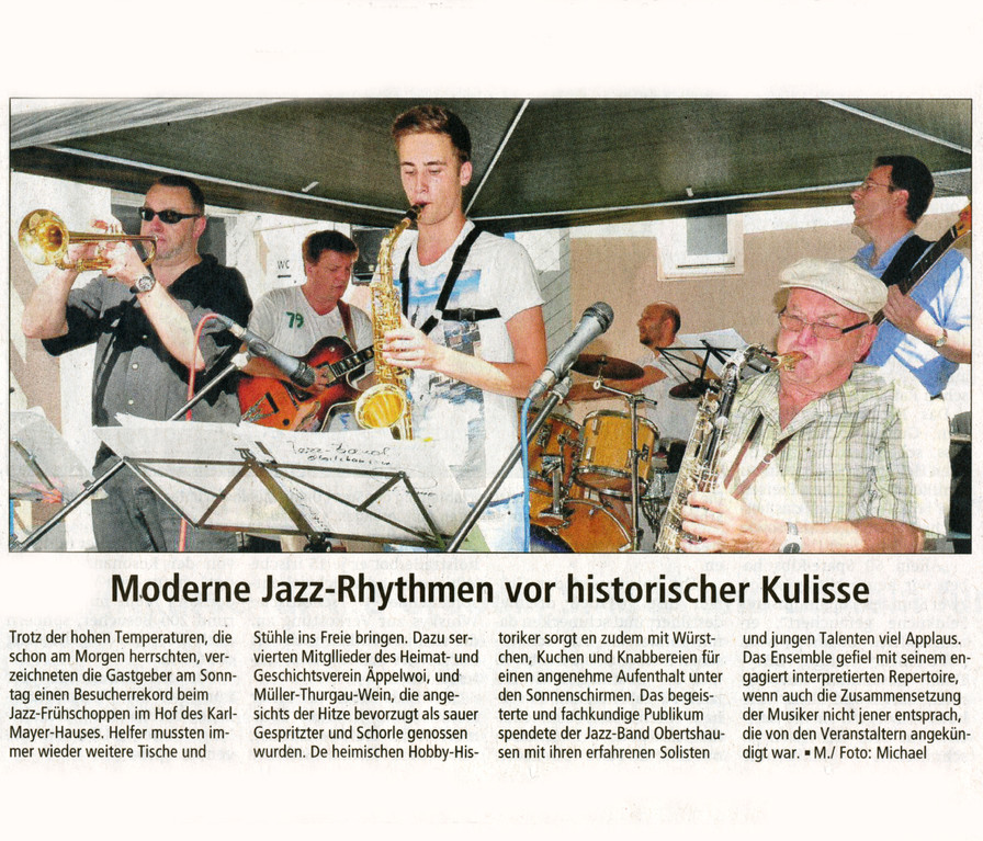 Offenbach Post, 21. August 2012