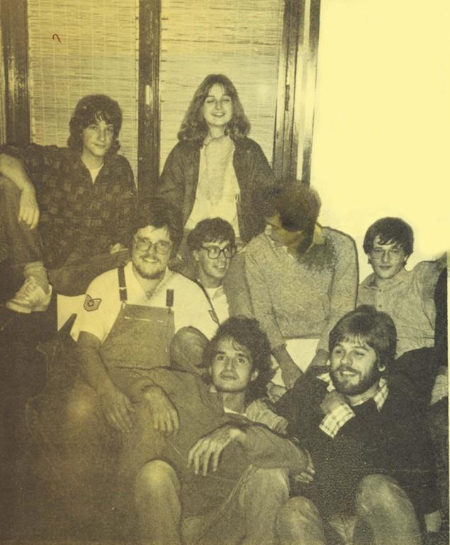 Bandfoto 1984 mit Oliver Augst und Marcus Müller