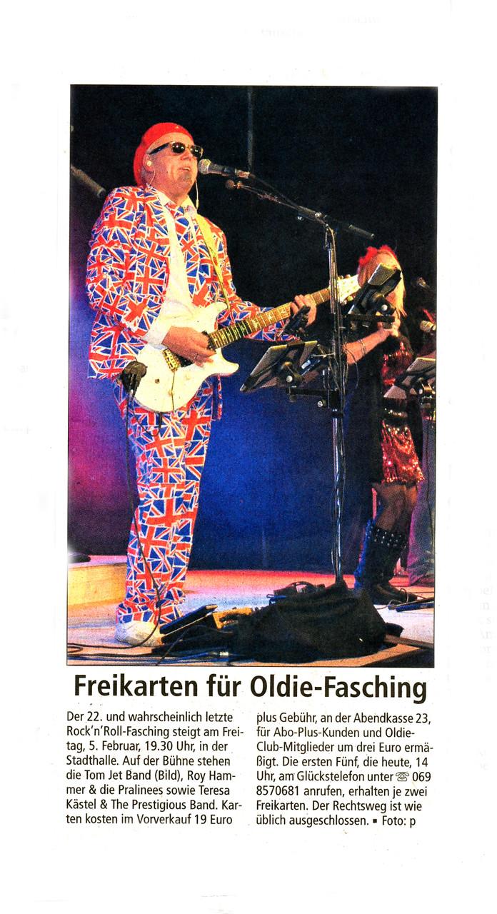 Offenbach Post, 4. Februar 2016