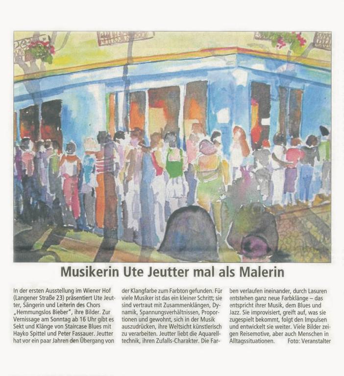 Offenbach Post, 2. März 2012