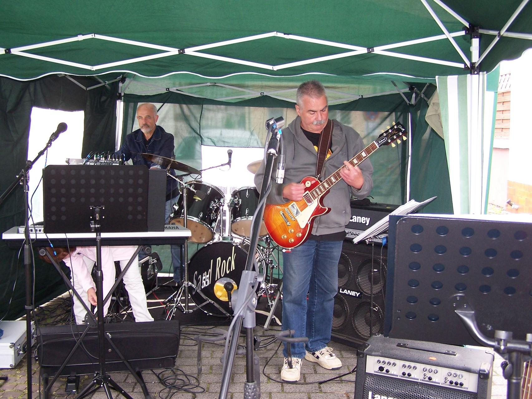 Wolfgang und Uwe beim Soundcheck (2014)