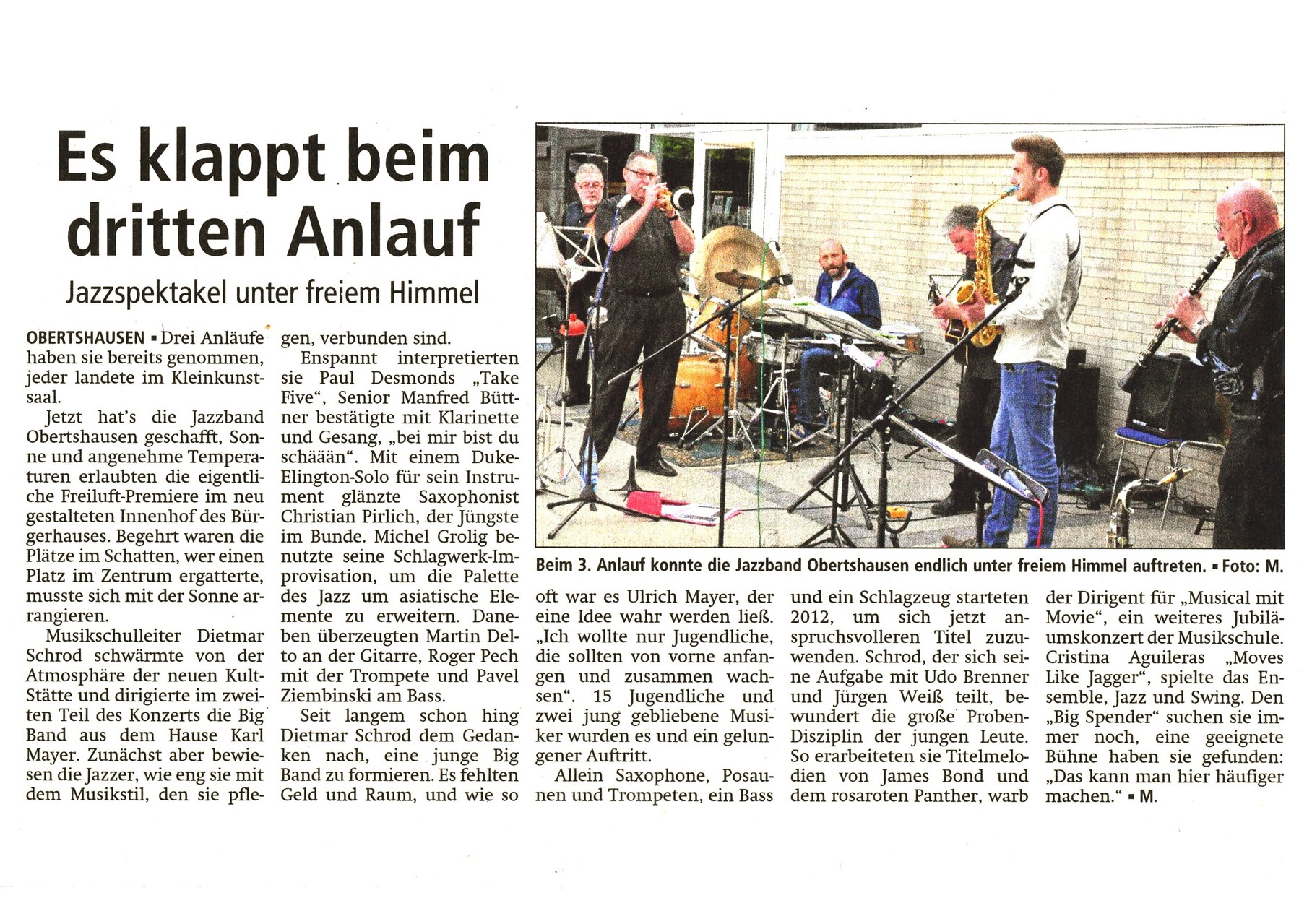 Offenbach Post, 23. Mai 2014