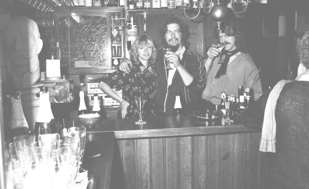 v.l.n.r.: Rosi Grosse, Mick, Grosse, Bodo Ziegler