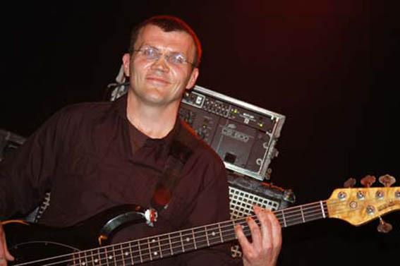 2006 in der Kulturhalle Rödermark : Klaus Bussalb (Foto: Dieter Kaiser)