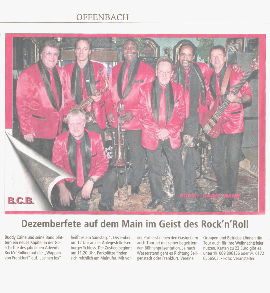 Offenbach Post, 26. November 2013