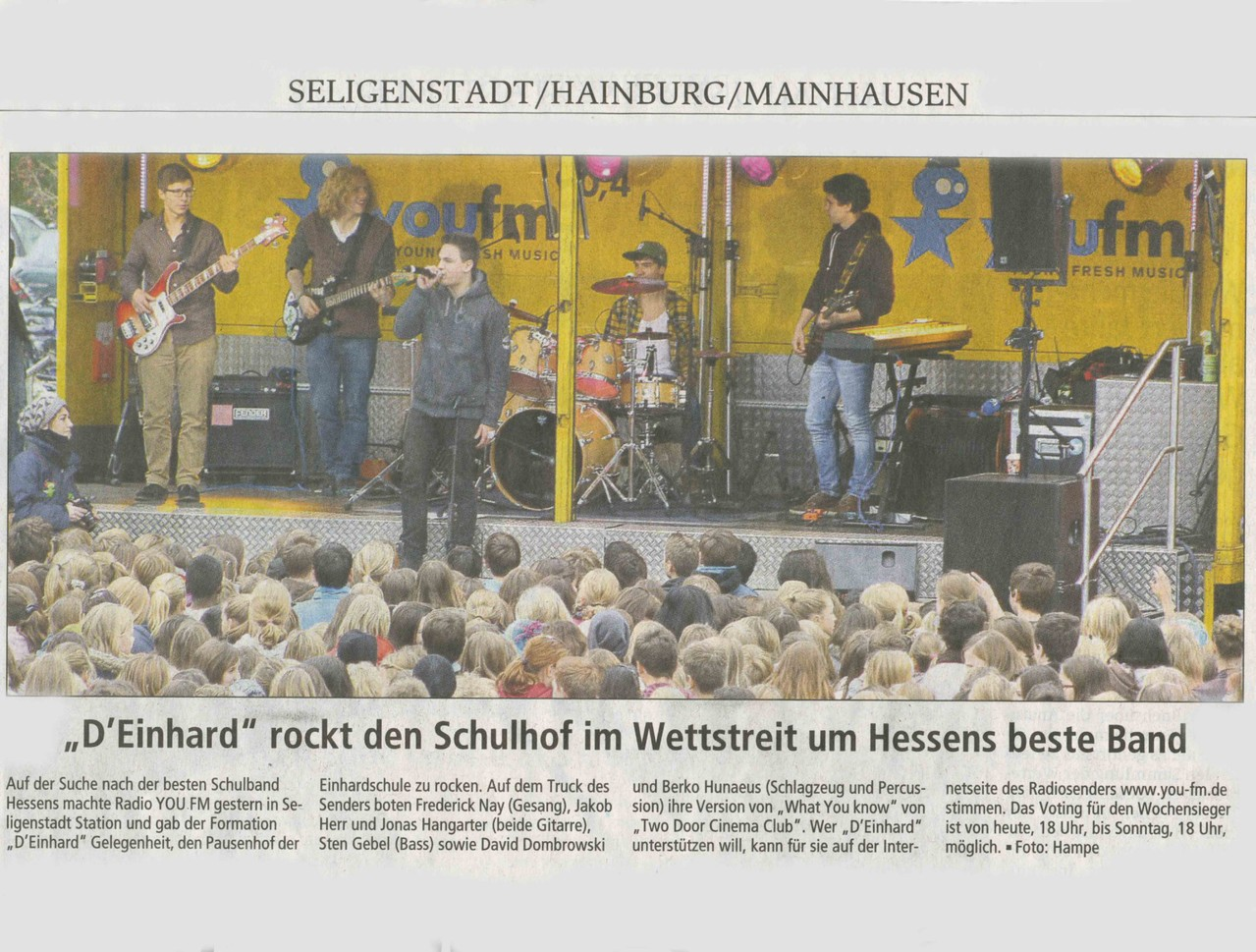 Offenbach Post, 30. November 2012