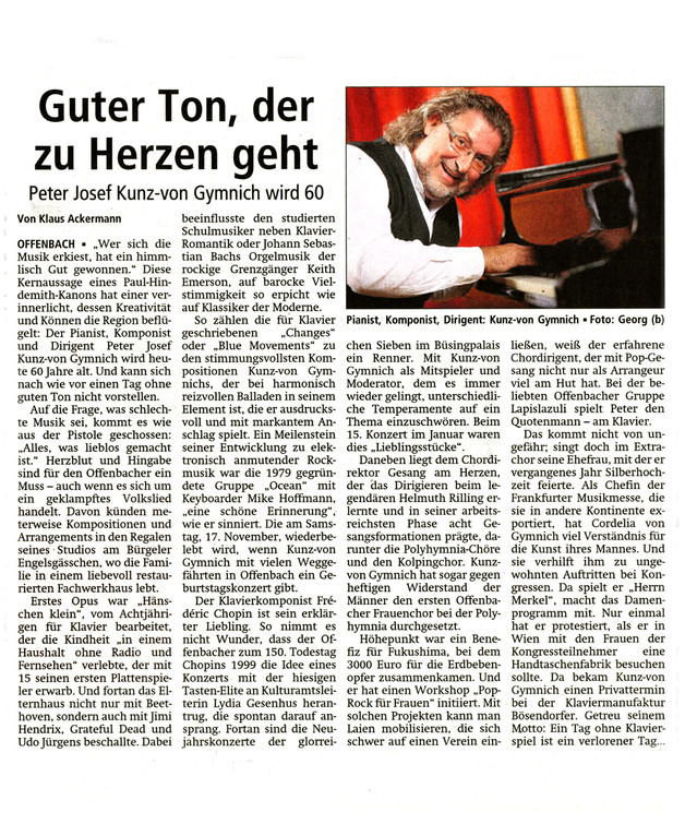 Offenbach Post, 4. Juli 2012