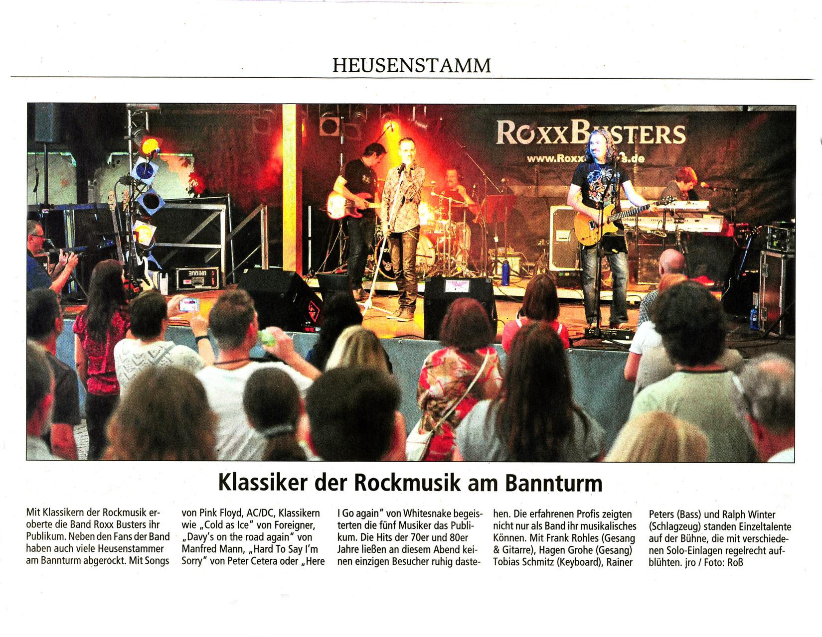Offenbach Post, 30. Juli 2014