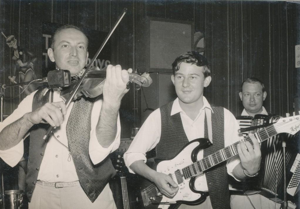 Auftritt in Wetzlar, Mai 1965 (Manfred Büttner und Werner Berlinetti)
