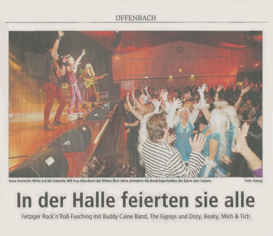 Offenbach Post, 20. Februar 2012