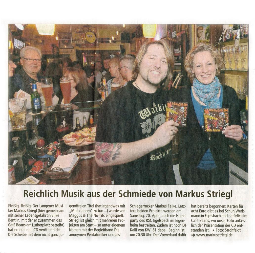 Offenbach Post, 25. März 2013
