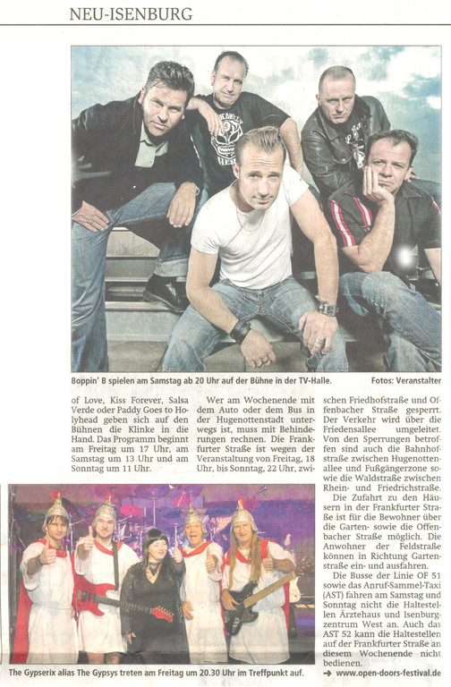 Artikel Offenbach Post, 1. Juni 2011 (2)