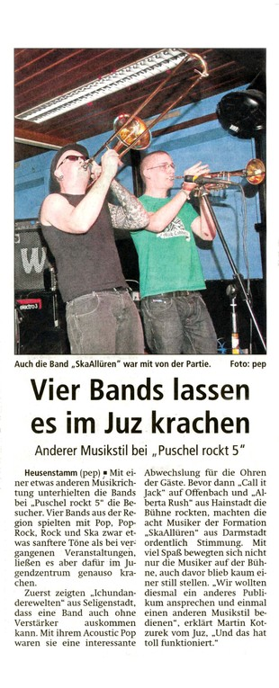 Offenbach Post, 15. Mai 2012