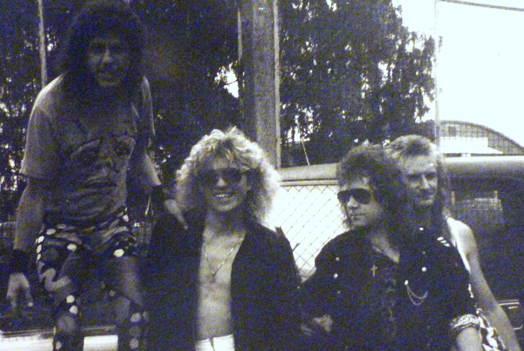 v.l.n.r.: Michael Kercher, Horst Deller, Uwe Steinmetz, Cord Kunze