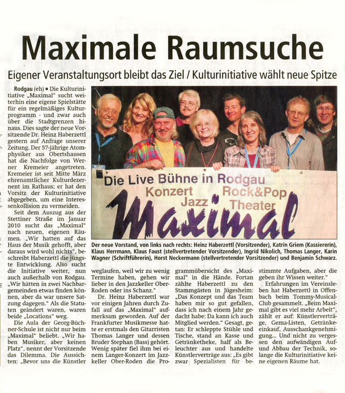 Offenbach Post, 31. März 2012