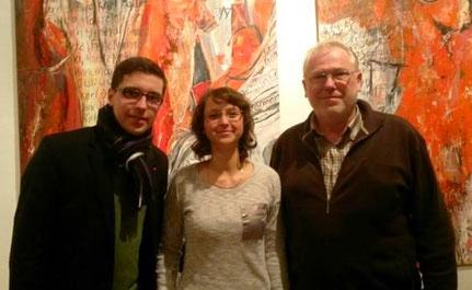 v.l.n.r. Tom Schäfer, Mandy Sörgel und Winfried Busch
