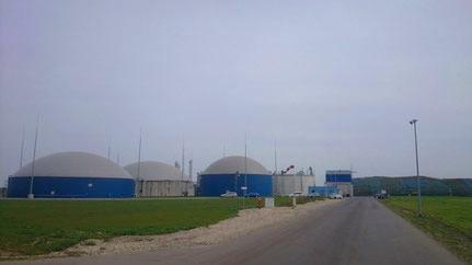 Biogasanlage und Blockheizkraftwerke in Thronitz