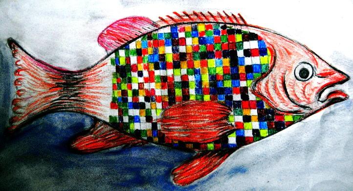 Mosaikfisch