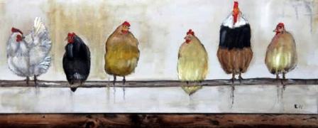 Hühner von mir